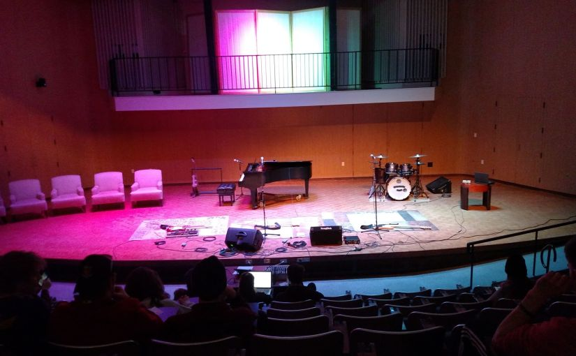 MSU Mankato, Songwriter Showcase.  Spring Semester, 2019.